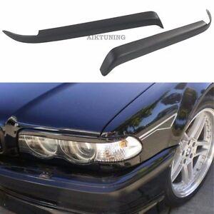 Eyebrow Set Lamp Spoiler Kit Eye Lid Spoilers (Fits BMW E38)