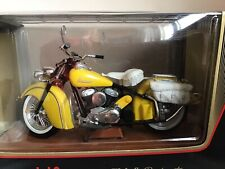 Maisto 1:10 Indian Chief Roadmaster Die Cast Metal Special Edition YELLOW