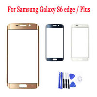 Genuine For Samsung S6 Edge Front Touch Glass Screen Replacement Lens Tools Kit