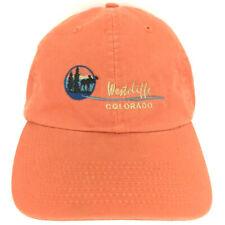 Westcliffe Colorado Hat Moose Cap Logo National Park Strap Back Baseball Trucker