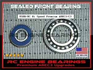 SX50 OS SF 46 AXII FX40 46AX OS 55 AX Premium Hi Speed ABEC3 RC Engine BEARINGS