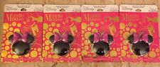 Lot of 4 Disney Minnie Mouse Watermelon Flavored Lip Gloss / Compact