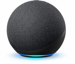Amazon Echo Dot 4th Gen Smart speaker with Alexa Voice Control - Charcoal