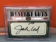 2008 Upper Deck SP Legendary Cuts Jack Lord Auto #'d 21