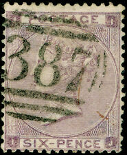 Sg85, 6d lilac plate 4, good used. Cat £200. HAIRLINES. IJ