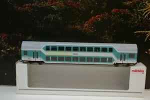 """Märklin H0 43581 Doppelstockwagen 1./2.Klasse der DB mit KKK """"Neu-Ulm"""" E4"""