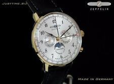 New Zeppelin LZ129 Hindenburg 7038-1 Swiss Made Ronda 706B Movement Men's Watch