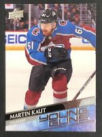 2020-21 UPPER DECK Series 1 Young Guns #217 Martin Kaut RC Rookie UD 🔥
