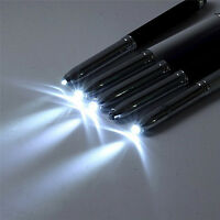 3 in 1 Touch Screen Stylus Ballpoint Pen With LED Flash Light For iPad Iphone HI