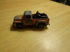 vintage 1973 Hot Wheels Truck 1956 Ford Stepside Flames Motorcycles
