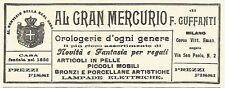 Y2140 Orologerie d'ogni genere - Guffanti - Pubblicità del 1903 - Old advert