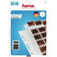 Hama 25 Glassine Negativo Mangas 10 Tiras Of 4 Negativos 24X36MM 2252