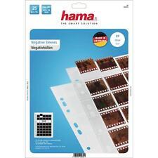 Hama 25 in polipropilene negativo non montato Slide Maniche 40 negativi 35mm 2032
