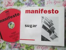 Manifesto – Sugar Label: Fire Records – blaze 55057 2 UK CD Single
