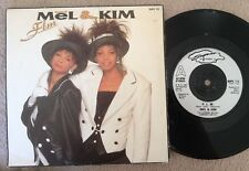"7"" MEL & KIM FLM  FUN LOVE MONEY 1987."