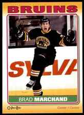 2012-13 O-Pee-Chee Stickers Brad Marchand #S-11