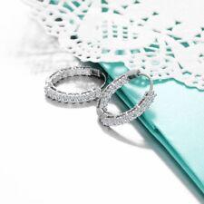925 Sterling Silver Hoop Earrings - USA Seller