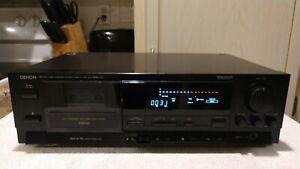 Denon DRM-700 3-Head Cassette Tape Deck Player Recorder