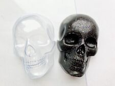 Skull Skeleton Soap Mold Plastic Molds Bath Bomb Halloween Gothic Creepy Soaps