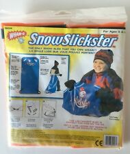 New Wham-O SnowSlicksters Snow Sled That You Can Wear Orange