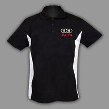 AUDI Polo T Shirt T-Shirt  chemise s line rs Coton BRODERIE Fabriqué EU S - 6XL