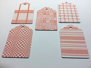 10 Red Gift Tags