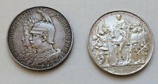 Preußen Wilhelm II. 2 Mark 1901 200 Jahre Königreich + 2 Mark Befreiungskriege