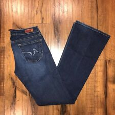 "Women's Adriano Goldschmied AG ""The Club"" Dark Wash Boot Cut Jeans- 26R (26x33)"