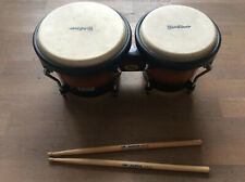 Bongo Headliner Trommel Percussion - incl. Drummsticks - super Zustand!
