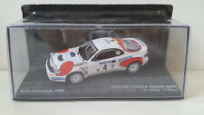 Toyota Celica Turbo 4WD Modellauto 1:43 Rally Catalunya 1992 model car NEU & OVP