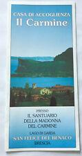 Brochure Casa di accoglienza Il Carmine Santuario della Madonna del Carmine
