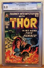 JOURNEY INTO MYSTERY #120 CGC 8.0 - OW/W PAGES *AVENGERS & ABSORBING MAN CAMEO*