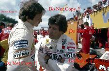 Gilles Villeneuve & Mario Andretti  F1 Portrait 1981 Photograph