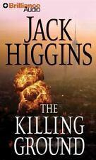 Sean Dillon: The Killing Ground 14 by Jack Higgins (2013, CD, Abridged)