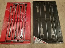 New Listingnew Snap On 7 Pc Standard Amp Metric T Handle Ratcheting Wrenches Usa Made