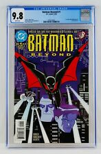 Batman Beyond #1 CGC 9.8 White Pages First Terry McGinnis Appearance 1st App NM+