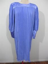 "EWALDO BOCK ""NWT"" Evening Formal DRESS Sz 14 rrp $425 Mauve Diamonte Work L/S"