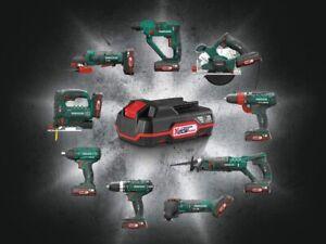 PARKSIDE 20V 2AH Battery w/ Charger   for Parkside Cordless Tools   BNIB