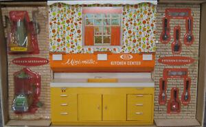 Vintage 1970 Mini-Matic Kitchen Center 4007-1, Original Packaging