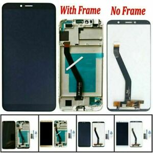 LCD Display Glass Touch Screen Digitizer Frame Kit For Huawei Y6 2018 & Honor 7A
