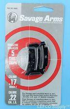 Savage 5 RD Round Magazine 22 LR Genuine Clip Mag Mark II 2 501 504 900 # 90005