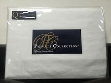 Brand New Private Collection Madison White Queen Bed Valance