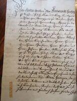 Deutschland, großes 8 Seiten Dokument Heinrich Herzog von Jülich usw.