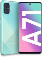 """Samsung Galaxy A71 Display 6.7"""" Super AMOLED 128/6GB BLU DUAL SIM GRADO C USATO"""