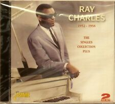 RAY CHARLES 'The Singles Collection Plus' - 2CD Set on JASMINE