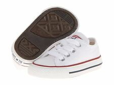 Toddler Converse 7J256 Chuck Taylor All Star 100% Athletic Optical White