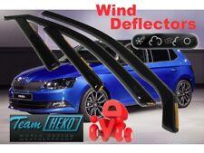SKODA FABIA - III  2014 - HTB / COMBI  5.doors Wind deflectors  4.pc HEKO  28343