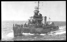 USS Aaron Ward DD-483 postcard US Navy Destroyer