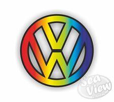 Groß VW Rainbow Sticker Aufkleber Spaß Auto Transporter Volkswagen Dub Käfer