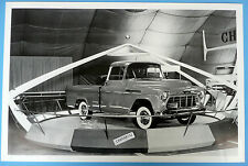 """12 By 18"""" Black & White Picture 1956 Chevrolet Cameo Motorama Display"""